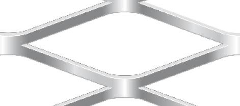 Streckgitter aus Stahl blank | 1000 x 2000 mm | Rhombusmasche | 115 x 42 x 6 x 3 | Durchlass 71%