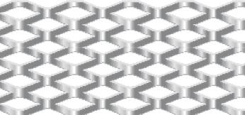 Streckgitter aus Stahl blank | 1250 x 2500 mm | Rhombusmasche | 20 x 8 x 3 x 2 | Durchlass 25%