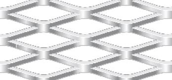 Streckgitter aus Stahl blank | 1000 x 2000 mm | Rhombusmasche | 42 x 13 x 3 x 3 | Durchlass 54%