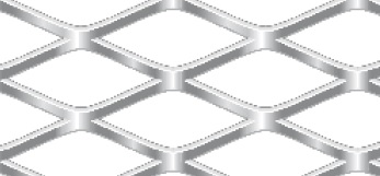 Streckgitter aus Stahl blank | 1000 x 2000 mm | Rhombusmasche | 42 x 18,6 x 3 x 2 | Durchlass 69%