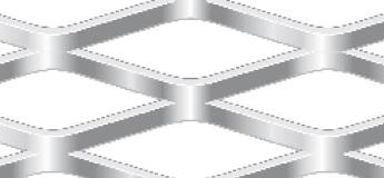 Streckgitter aus Edelstahl 1.4301 | 1000 x 2000 mm | Rhombusmasche | 62 x 23 x 5 x 3 | Durchlass 61%