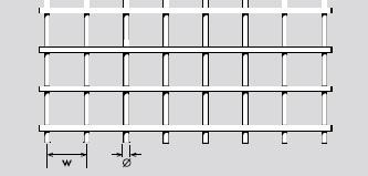 Drahtgitter aus Edelstahl 1.4301 | Rollenware | Maschenweite:  10 mm | Drahtstärke: 1 mm | Breite: 1000 | Durchlass 82,64%