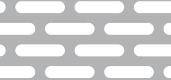 Lochblech aus Aluminium (Al99,5)   1,5 x 1000 x 2000 mm   Lv 5×25-10×30   Durchlass 40%