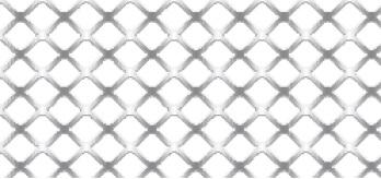 Streckgitter aus Aluminium (Al99,5) | 1250 x 2500 mm | Quadratmasche | M 10 | Durchlass 75%