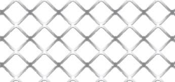 Streckgitter aus Stahl blank | 1000 x 2000 mm | Quadratmasche | M 14 | Durchlass 71%