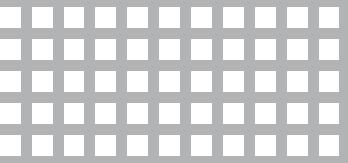 Lochblech aus ALMG3   1 x 1000 x 2000 mm   Qg 5-8   Durchlass 39,06%