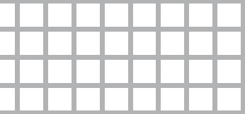 Lochblech aus Aluminium (Al99,5)   1,5 x 1000 x 2000 mm   Qg 8-10   Durchlass 64%