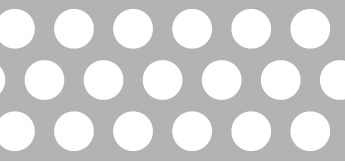 Lochblech aus ALMG3   1,5 x 1000 x 2000 mm   Rv 10-15   Durchlass 40,31%