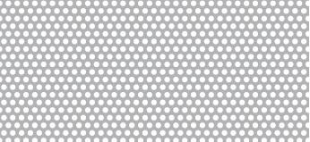 Lochblech aus Aluminium (Al99,5)   1 x 1000 x 2000 mm   Rv 1,5-2,5   Durchlass 32,65%