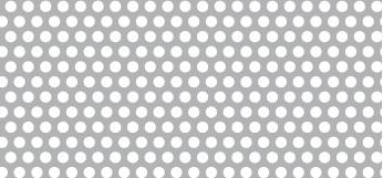 Lochblech aus ALMG3   1 x 1250 x 2500 mm   Rv 2,5-4   Durchlass 35,43%