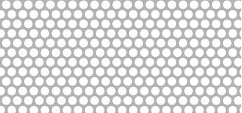 Lochblech aus Aluminium (Al99,5)   1 x 1000 x 2000 mm   Rv 3-4   Durchlass 51,02%