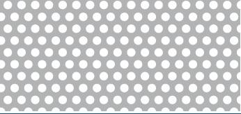Lochblech aus ALMG3   1 x 1000 x 2000 mm   Rv 3-5   Durchlass 32,65%