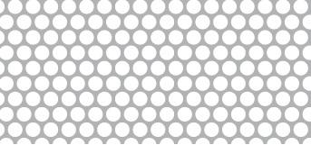 Lochblech aus Aluminium (Al99,5)   1 x 1000 x 2000 mm   Rv 4-5   Durchlass 58,05%