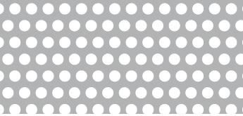 Lochblech aus ALMG3   1 x 1000 x 2000 mm   Rv 4-6   Durchlass 40,31%