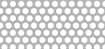 Lochblech aus Aluminium (Al99,5)   1 x 1000 x 2000 mm   Rv 5-7   Durchlass 46,28%