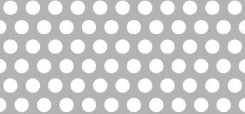 Lochblech aus ALMG3   0,8 x 1000 x 2000 mm   Rv 5-8   Durchlass 35,43%
