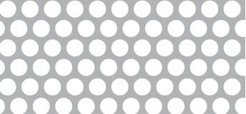 Lochblech aus Aluminium (Al99,5)   1 x 1000 x 2000 mm   Rv 6-8   Durchlass 51,02%