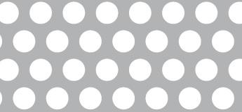 Lochblech aus ALMG3   1 x 1000 x 2000 mm   Rv 8-12   Durchlass 40,31%