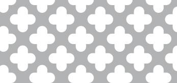 Lochblech aus ALMG3   1,5 x 1000 x 2000 mm   Zierlochung Nr. 502   Durchlass 48%